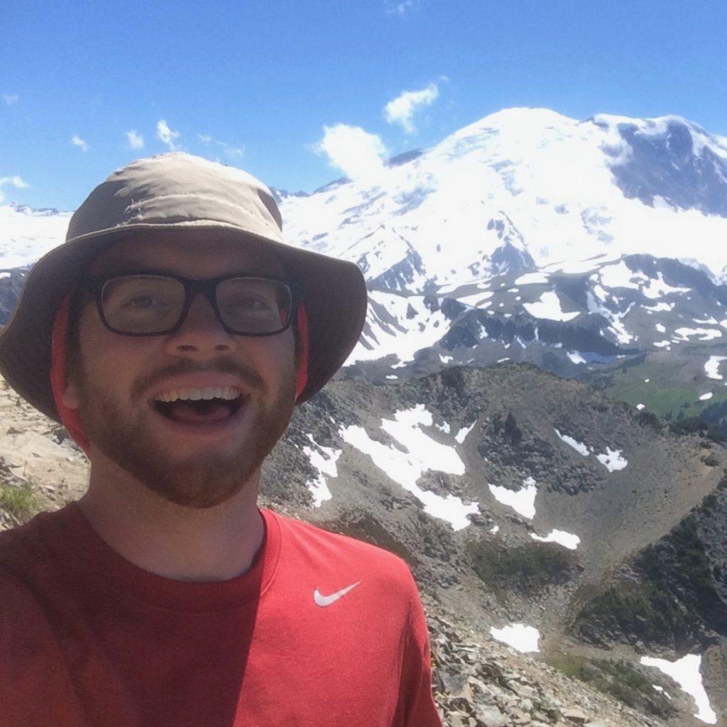 Trip Leader Elliott, working as a Bicycle Trip Leader is the best outdoor adventure summer job!