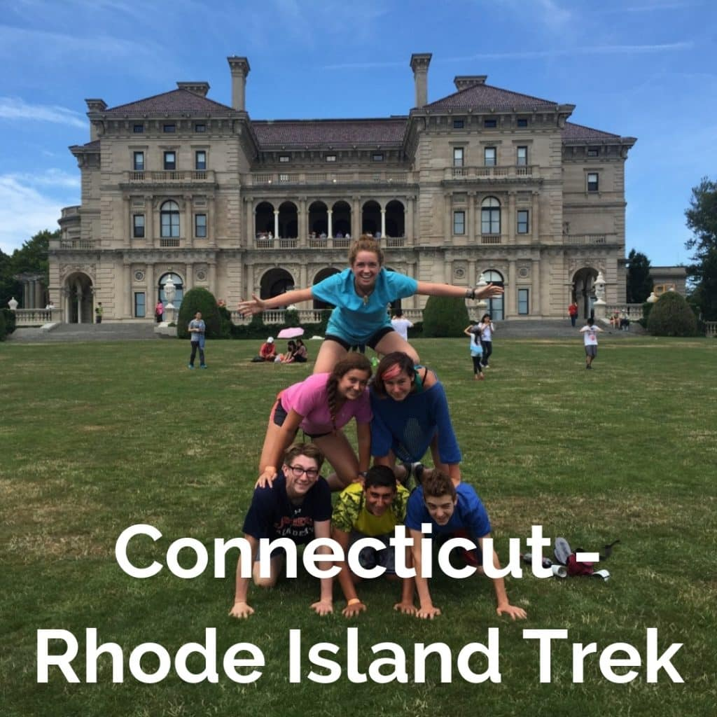 First time bicycle trip for teens along the Connecticut and Rhode Island shorelines.