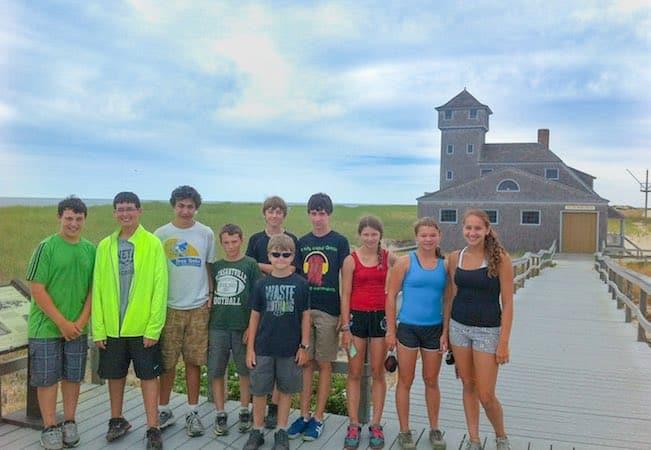 Provincetown teen bike trip