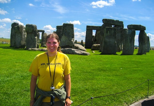 Stonehenge sightseeing