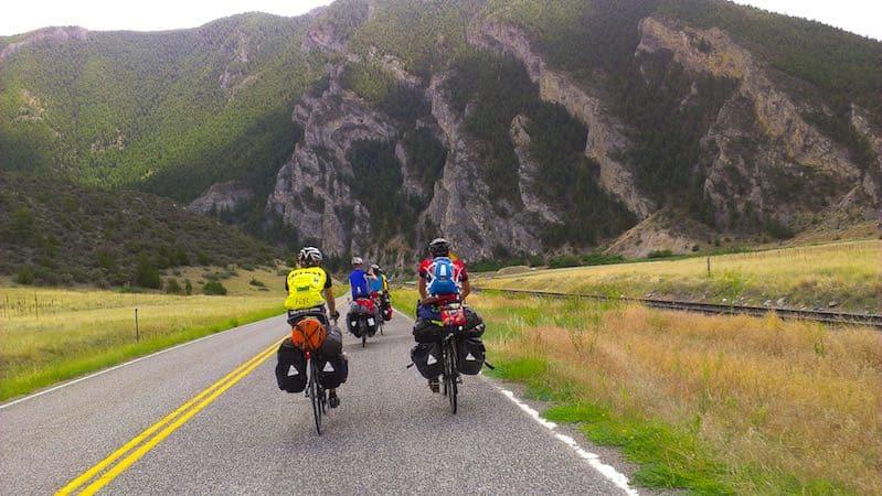 Across America Teen Bike trip